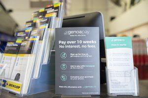 Genoapay available