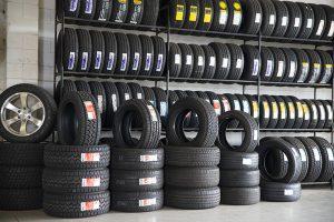 Wide range of tyres