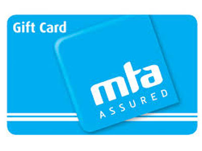 MTA gift card